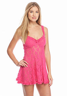 Cinema Etoile Mona Stretch Lace Soft Cup Babydoll Top