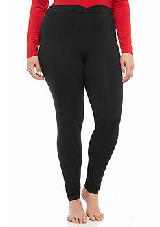 Cuddl Duds Plus Size Softwear with Stretch Legging - CD9618816
