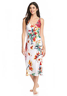 N Natori Sleeveless Penny Bouquet Gown