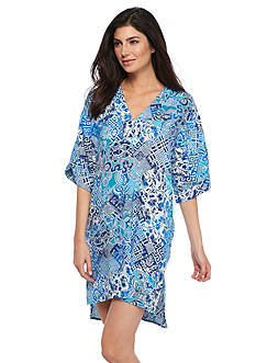 N Natori Mosaic Meadow Sleepshirt