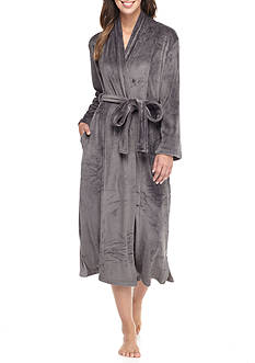 N Natori Velour Robe with Headband