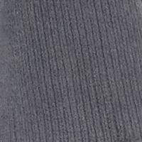 Womens Sleep Shirts: Charcoal N Natori Blanket Shawl with Fringe