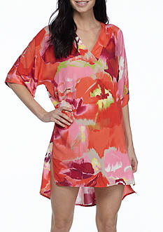N Natori Bloom Mural Sleepshirt