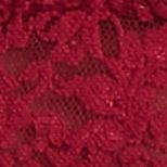 Red Bralettes For Women: Cranberry Hanky Panky Stretch Lace Soft Bra - 113