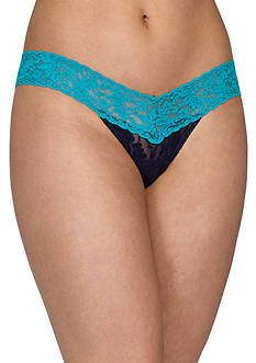 Hanky Panky® Colorplay Low Rise Thong - 36104