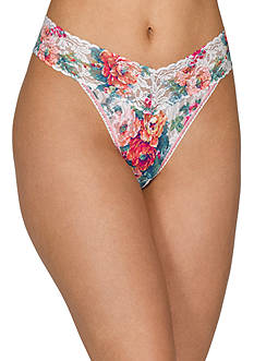 Hanky Panky® English Garden Original Rise Thong - 3T1181