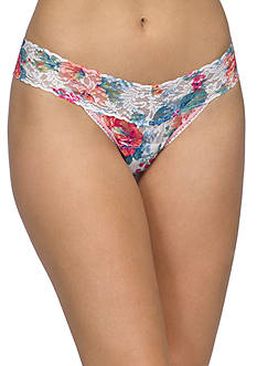 Hanky Panky® English Garden Low Rise Thong -  3T1581