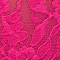 Womens Underwear: Ticked Pink Hanky Panky Signature Lace Original Rise Thong - 4811