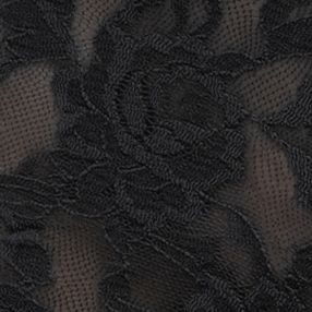 White Modern Bras: Black Hanky Panky Signature Lace Boyshort - 4812