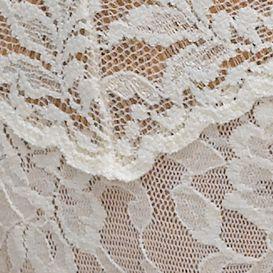Women's Bikini Underwear: Ivory Hanky Panky Signature Lace V-kini - 482374