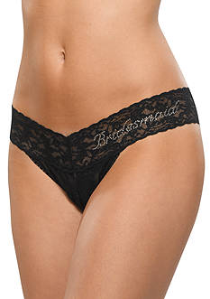 Hanky Panky® Low Rise Bridesmaid Thong - Online Only - 491031