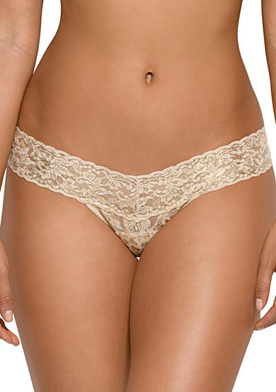 Hanky Panky® Lace Low Rise Thong - 4F1586