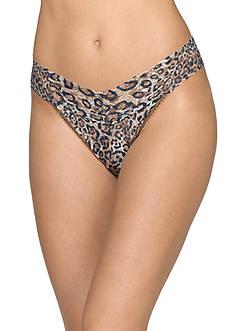 Hanky Panky® Leopard Nouveau Original Rise Thong - 4X1181