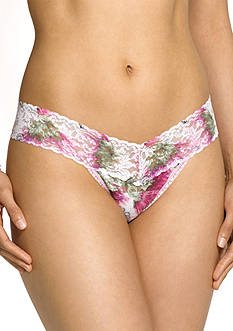 Hanky Panky Wild Thistle Low Rise Thong - 4Y1584