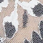 White Modern Bras: Ivory-Coal Hanky Panky Cross Dye Boyshort - 591204