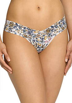 Hanky Panky Vintage Blossom Low Rise Thong - 5C1584