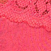 Women: Designer Sale: Popsicle Pink Hanky Panky Logo Low Rise Thong - 631581
