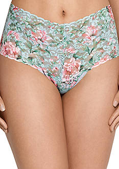 Hanky Panky® Capri Bloom Retro Thong- 7D1922