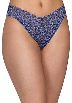 Hanky Panky® Denim Cat Original Rise Thong - 8F1184
