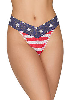 Hanky Panky® Stars and Stripes Original Rise Thong - 8N1182