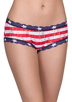 Hanky Panky® Stars and Stripes Boyshorts -  8N1312