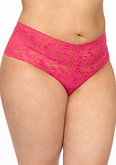 Hanky Panky® Plus Size Retro Lace Thong - 9K1926X