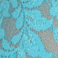 Women's Bikini Underwear: Calypso Blue Hanky Panky Plus Size Retro V-kini - 9K2124X