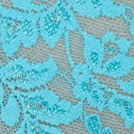 Women's Bikini Underwear: Calypso Blue Hanky Panky Retro Lace Vikini - 9K2124