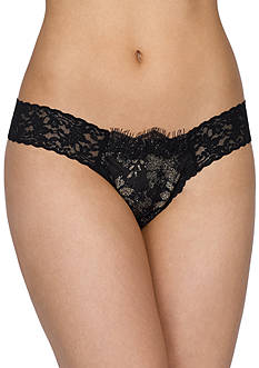 Hanky Panky Gilded Lace Low Rise Thong - 9X1946