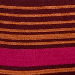 Women's Bikini Underwear: Heather Red Stripe DKNY Energy Seamless Bikini - 570046