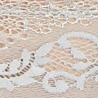 Designer Panties: Light Gray DKNY Lovely Lacy G-String - 576111