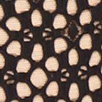 Thongs for Juniors: Black/Multi DKNY Nightfall Thong - DK2008