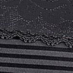 Purple Plus Size Panties: Midnight Black Vanity Fair Flattering Lace Brief - 0013281
