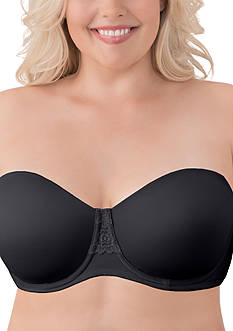 Vanity Fair Beauty Back Full Figure Underwire Strapless Bra - 74380
