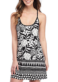 New Directions Printed Kailani Border Chemise