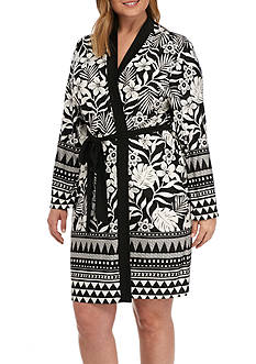 New Directions® Plus Size Printed Kailani Border Wrap