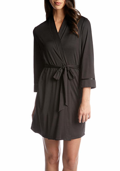 New Directions® Intimates Silky Jersey Wrap Robe