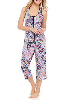 New Directions® Printed Pajama Set