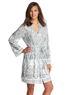 New Directions® Intimates Tyrol Border Wrap Robe