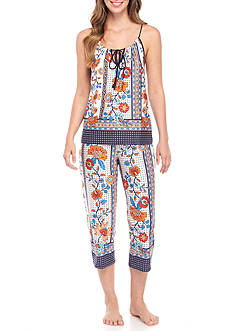 New Directions® Cami Crop Pajama Set