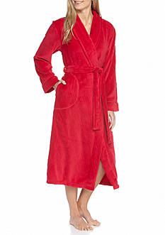 Kim Rogers® Plus Size Wave Wrap Robe