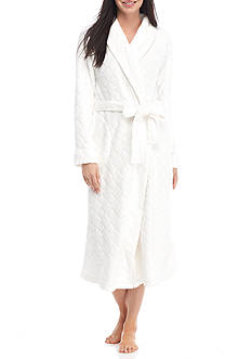 Kim Rogers Folded Diamond Wrap Robe
