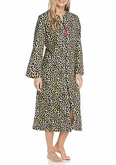 Kim Rogers Cheetah Zip Robe