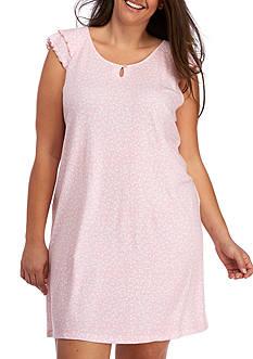 Karen Neuburger Plus Size Pullover Nightshirt