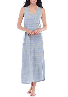 Karen Neuburger Maxi Tank Sleep Gown