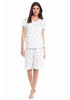 Karen Neuburger Short Sleeve Bermuda Pajama Set