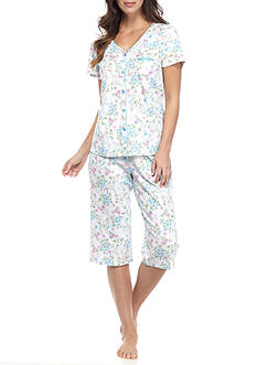 Karen Neuburger Cardigan Capri Pajama Set