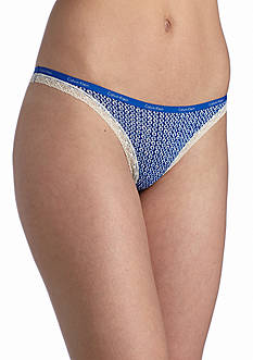 Calvin Klein Bottoms Up Thong - D3445