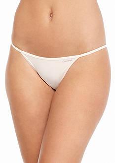 Calvin Klein Sleek String Bikini - D3510