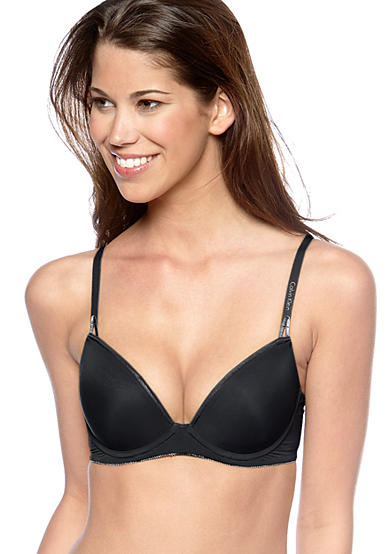 Calvin Klein Seductive Comfort Caress Push Up Bra - F3455